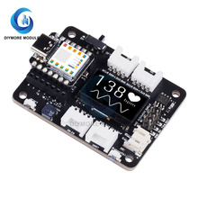 Pre-Soldered Seeeduino XIAO Microcontroller SAMD21 Cortex M0+ Type C OLED Display Expansion Board Grove Shield For Arduino/IOT