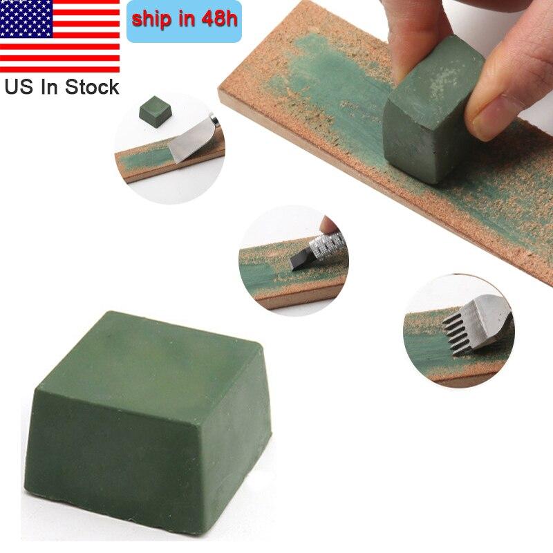 Green Polishing Paste Alumina Fine Abrasive Compound Metal Jewelry Polishing Compound Abrasive Paste Knife Blade Grinding Use