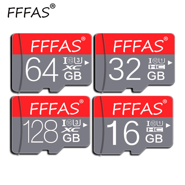 New Arrival Memory Card Micro Sd 32GB 64GB 128GB Class 10 TF Card Micro Sd Card 16GB 8GB Cartao De Memoria With Free Adapter
