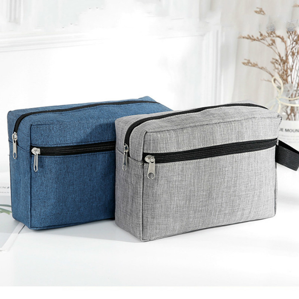 Fashion Storage Cosmetic Bags Travel Cosmetic Bag Waterproof Toiletry Wash Kit Storage Hand Bag Pouch for Women Men Male Handbag