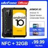 Ulefone Armor X5 Android 10 прочный водонепроницаемый смартфон IP68 MT6762 мобильный телефон 3 ГБ 32 ГБ Восьмиядерный NFC 4G LTE мобильный телефон