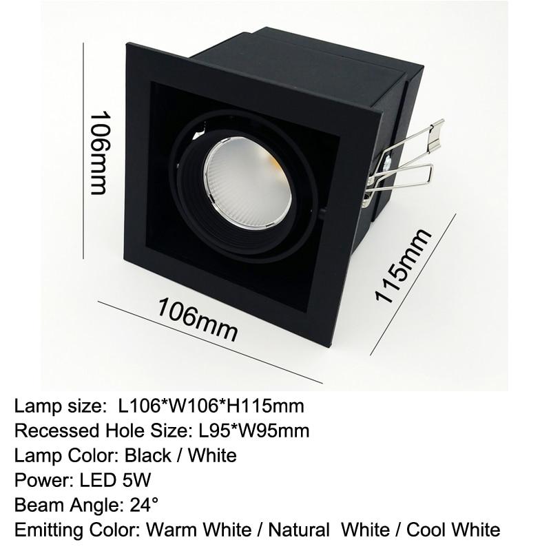 luminaria de teto embutida para sala 04