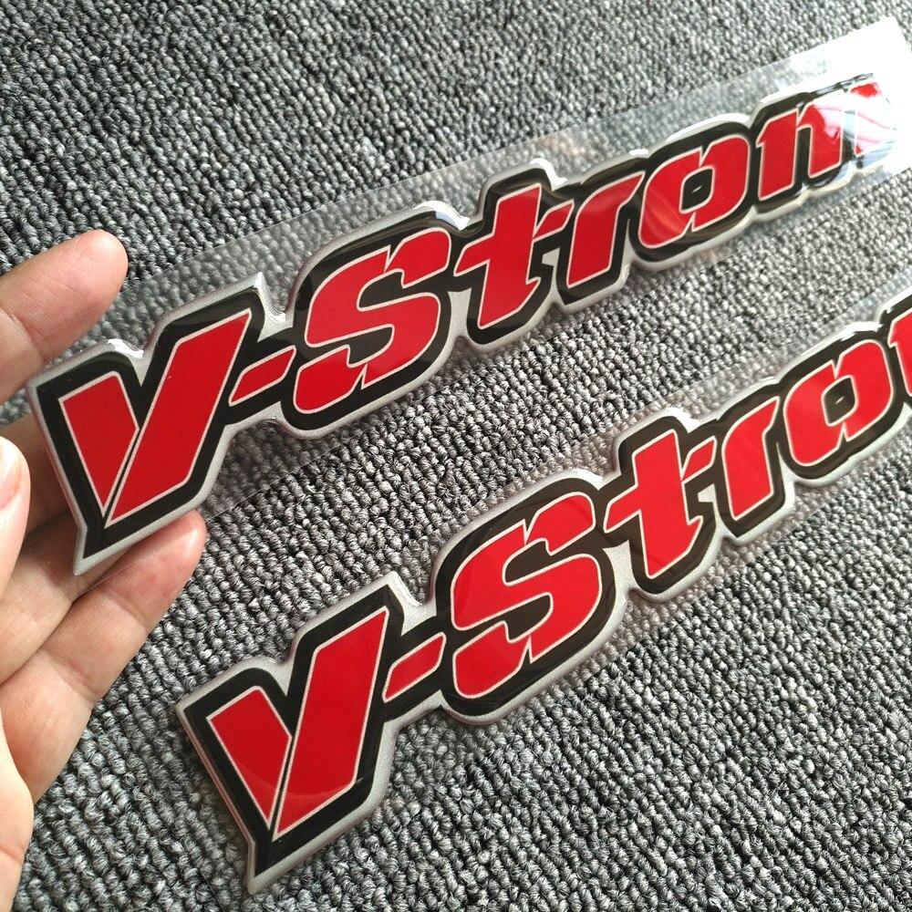 DL 650 1000 VSTROM 3D Sticker For SUZUKI V-STROM 650XT 1000XT DL250 DL650 DL1000 ABS Tank Pad Emblem Decal Stickers Adventure