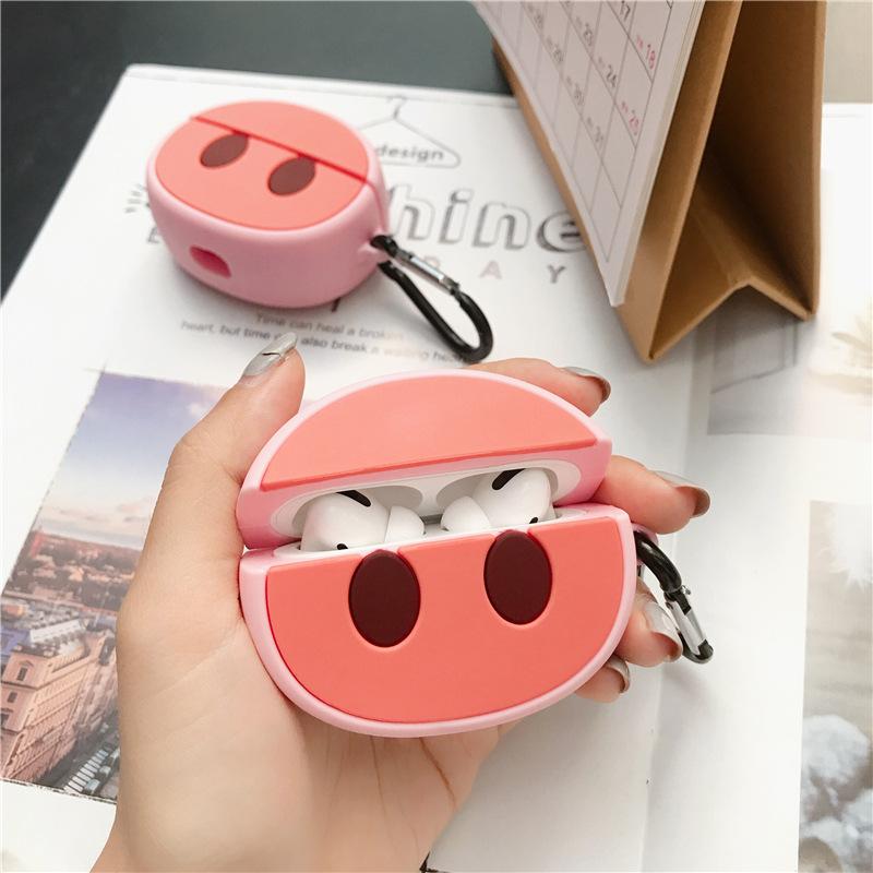 Super Cute Retro 3D Silicone Case for Airpods Pro 48