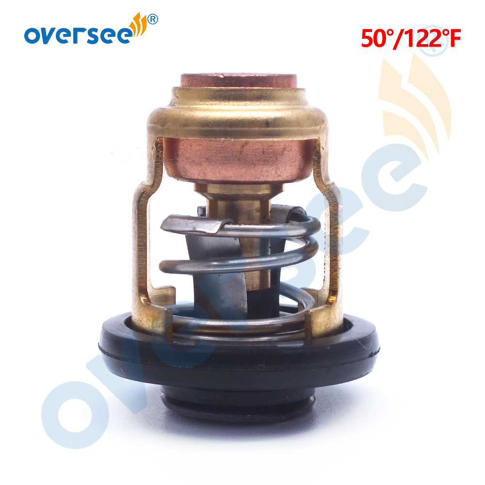 50 Degree Thermostat  6E5-12411 688-12411 6H3-12411 6E5-12411-10 For Yamaha FOR SUZUKI Outboard Motor 15 25HP 30HP 40HP 220HP