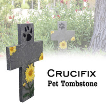Get more info on the Hot Pet Dog Picture Grave Memorials Stone Marker Plaque Sturdy Headstone for Indoor Outdoor FQ-ing