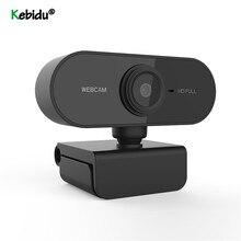 Webcam HD Microphone Laptop Web-Camera Video-Call Built-In Kebidu Drive-Free High-End