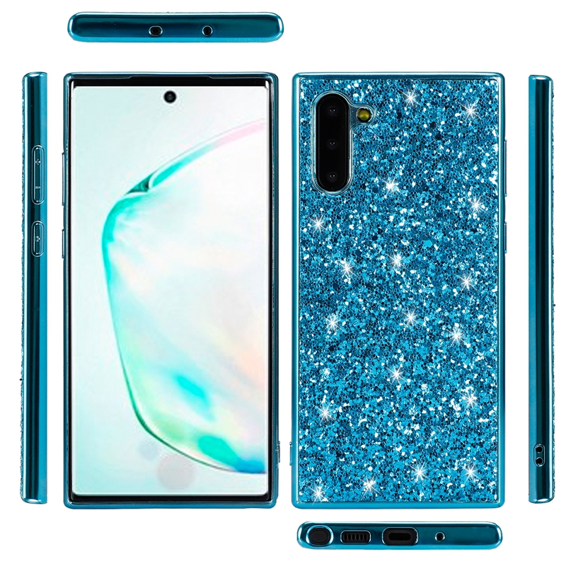 Note 10 Pro Shiny Bling Glitter Back Cover for Samsung Galaxy Note 10 plus Ultra Slim Thin Phone Case for Samsung Note 10 Cover