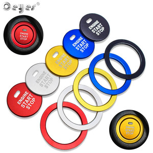 Ceyes Car Accessories Styling For Subaru BRZ Impreza XV Forester Outback Legacy Auto Engine Start Stop Button Ring Covers Case