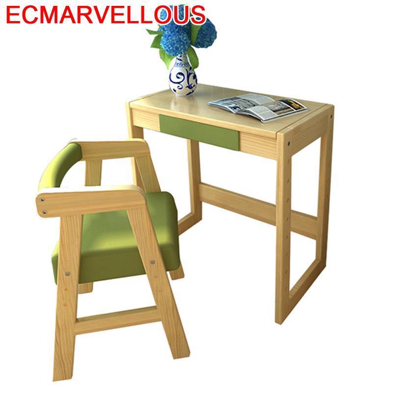 Cocuk Masasi Tableau Kinder Tafel Estudo Estudio Estudiar Pupitre Infantil Wooden Enfant Mesa Escritorio Kids Study Table