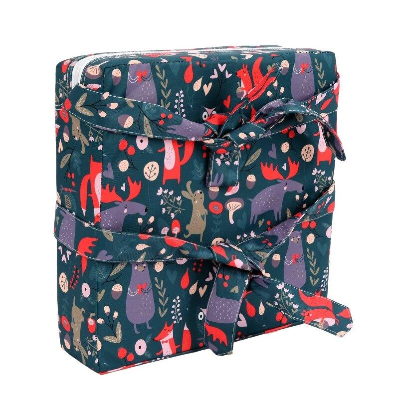 Переносной усилитель для детского стула, регулируемая съемная моющаяся утолщенная поролоновая подушка для детского стула для кормления малышей 6