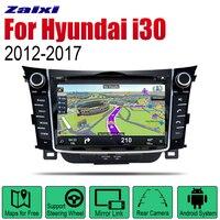 Auto DVD Player GPS Navigation For Hyundai i30 Elantra GT 2012 2013 2014 2015 2016 2017 Car Radio stereo multimedia
