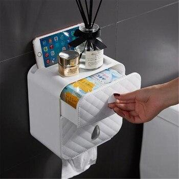 Wonderlife держатель для ванной комнаты, 1 шт., водонепроницаемый, без дрели, держатель для белой бумаги