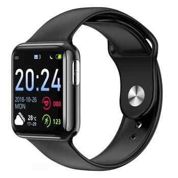 Reloj inteligente V5 ECG + PPG banda de Fitness inteligente Monitor de frecuencia cardíaca reloj de presión arterial resistente al agua reloj inteligente