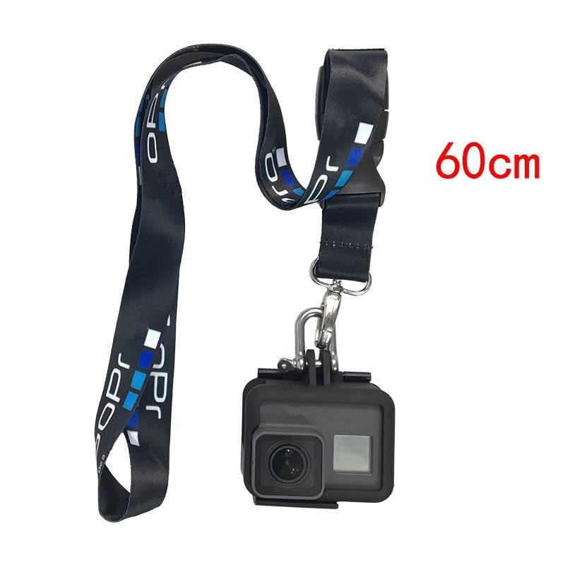 Аксессуары для спортивной камеры веревка для Gopro hero 8 7 6 5 4 3 Sjcam шейный ремешок Ремешок с быстроразъемной пряжкой аксессуары для go pro