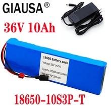 2020New 36V bateria 10S3P 10Ah 42V 18650 akumulator litowo-jonowy do ebike skuter elektryczny rower samochodowy z 20A BMS 500W