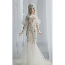 Wedding Dress Clothes Doll Accessories for 1/3 1/4 1/6 BJD Dolls - Transparent No Doll 1 3 1 4 1 6 bjd dolls clothes fashion white dress for bjd dolls toy clothing dress doll accessories