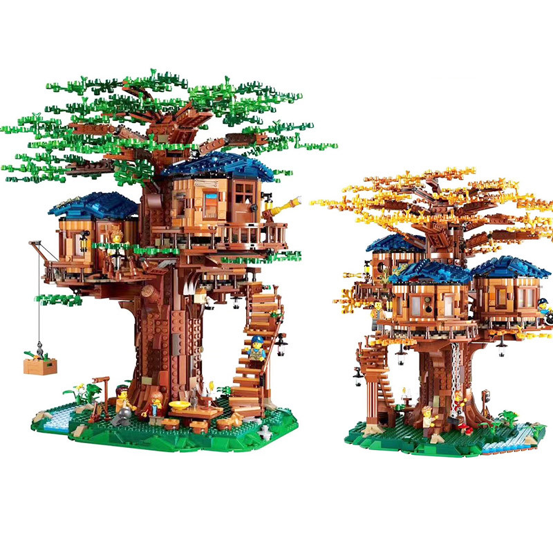 New In Stock 21318 New Tree House The Biggest Ideas Model 3000+Pcs Legoinges Building Blocks Bricks Kids Educational Toys Gifts