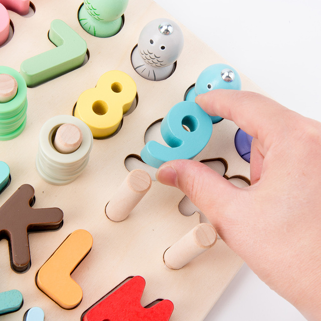 Wooden Early Educational Toys For Children