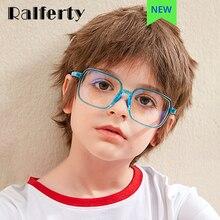 Square Glasses Online-Class Prescription Anti-Blue light Myopia Kids Child TR90 Boy Girl
