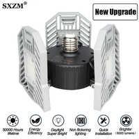 60W 80W E27 LED lampe déformable lumière de Garage LED SMD 2835 Radar éclairage à la maison de stationnement de haute intensité entrepôt industriel