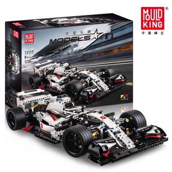 The F1 Racing Car Static City Technic Series Bricks Model Kit Compatible with lepining 42039 Building Blocks Kids Toys DIY gifts lepin 20009 1977pcs technic series the tractor model building blocks bricks compatible with 42054 boy s favourite