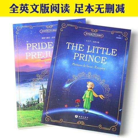 2 livros conjunto pequeno principe orgulho