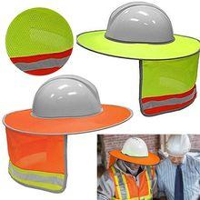 Helmet Hard-Hat Sun-Shade Sun-Protection Reflective Summer Neck-Shield Stripe-Kit Prevent-Sunburn