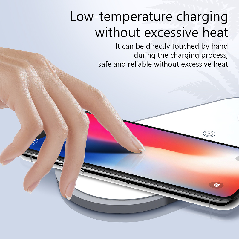 EKSPRAD 3 in 1 Wireless Charger 10W Fast Wireless Charging Pad For iPhone 11 11Pro X