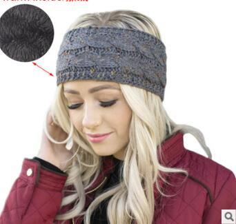 Ferramentas de Estilo do Cabelo Lote Faça Você Mesmo Simples Multi Adicionar lã Quente Tricô Cabeça Bandas Earmuffs Headbands Acessório Ha1458 36 Pçs –