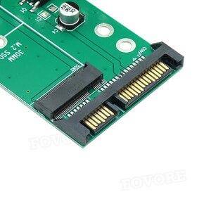 """Image 5 - SATA adapter M.2 SATA to M2 NGFF M2 M2.SATA adapter NGFF M.2 converter 2.5"""" SATA3 Card"""