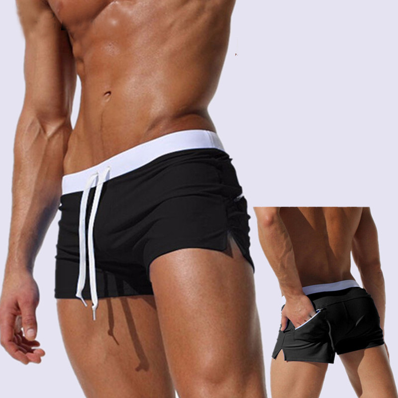 After Pocket Swimming Trunks MEN'S Swimming Trunks Fashion AussieBum MEN'S Swimming Trunks Hot Selling Quick-Dry Beach Shorts