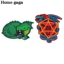 D2949 Homegaga Patches for Clothing Iron on Embroidered Sew Applique Cool Patch Fabric Badge DIY Apparel Accessories