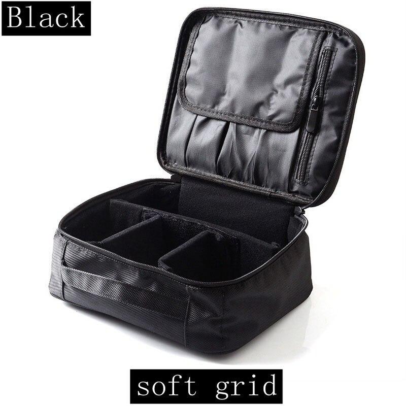 ABZC-Women Cosmetic Bag Travel Cosmetic Organizer Zipper Portable Makeup Bag Designers Trunk Make Up Bags