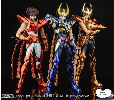 GT Phoniex Ikki V3 Final Cloth Metal Armor GREAT TOYS OCE EX Bronze Saint Seiya Myth Cloth Action Figure
