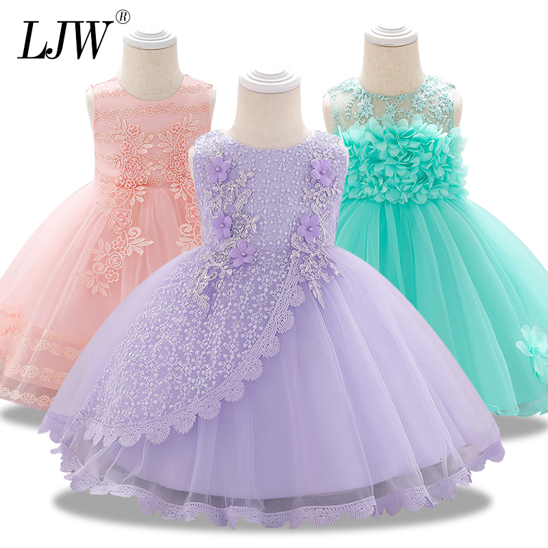 1 Years birthday party Washing dress of Girls infant Baby Girl costume Baby Girls clothes for summer tutu princess dress|Dresses| |  - title=