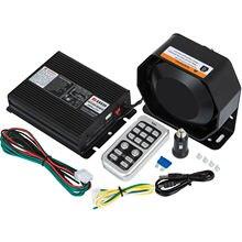 VEVOR 200 400W 8 18 20 Sound Loud Car and Truck Alarm Fire Ambulance Emergency Horn Kit PA Speaker MIC System Vehicle Siren