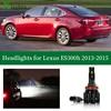 Xlights Led Headlight Bulb For Lexus ES300h ES 300H  2013 2014 2015 Low High Beam Canbus Car Headlamp Lamp Light Accessories 12V