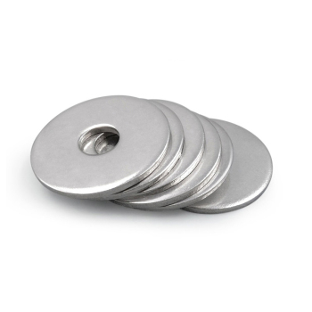 2/50X M2.5 M3 M3.5 M4 M5 M6 M8 M10 M12 M14 M16 A2-70 304 Stainless Steel Large Size Oversize Big Wider Flat Washer Plain Gasket youen 60pcs 304 stainless steel metric helicoil wire thread repair inserts coarse m3 m4 m5 m6 m8 m10 m12