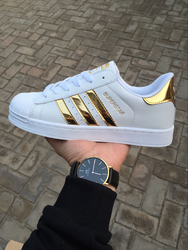 Adidas original superstar metal toe cap men's and women's shell head casual shoes outdoor walking sports board shoes