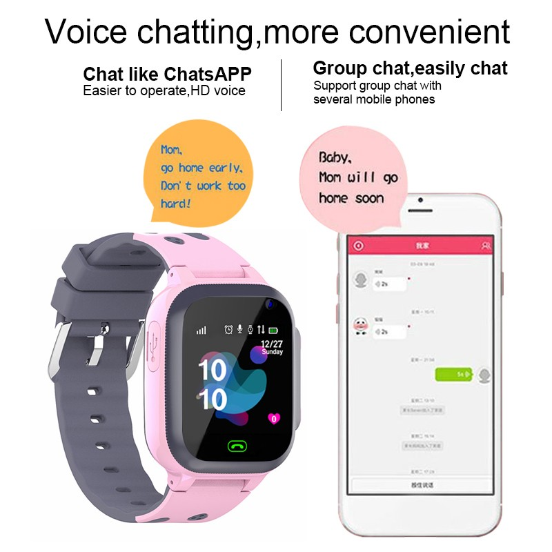 Image 3 - kids call Kids Smart Watch for children SOS Antil lost Waterproof Smartwatch Baby 2G SIM Card Clock Location Tracker watches-in Smart Watches from Consumer Electronics