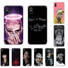 Rap singer Lil Peep Printing Phone Case cover Shell For iphone 4 4s 5 5S SE 5C 6 6S 7 8 plus X XS XR 11 PRO MAX(China)