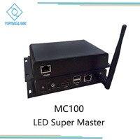 Led super mestre mc100 a1s assíncrono assíncrono sistema de controle de tela led para linsn novastar colorlight controlador dbstar|Tela de exibição| |  -