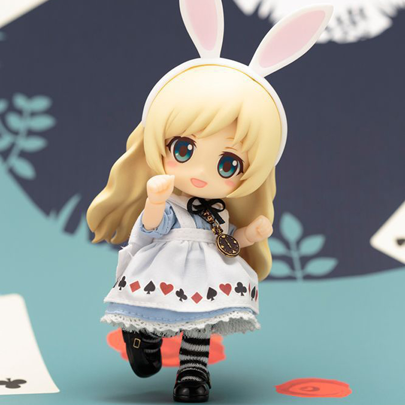 Cu-poche Friends Alice Bunny Doll PVC Action Figure Collectible Model Toy 13CM