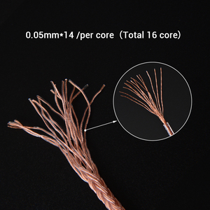 Image 4 - NICEHCK C16 3 16 Cores High Purity Copper Cable 3.5/2.5/4.4mm Plug MMCX/2Pin/QDC/NX7 Pin For C12 ZSX ZAX TFZ BL 03 NX7 MK3 LZ A7