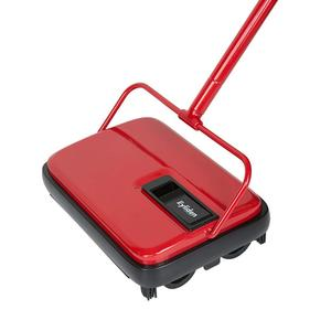 Carpet Floor Sweeper Cleaner Hand Push Automatic Broom for Home Office Carpet Rugs Dust Scraps Paper Cleaning with Brush