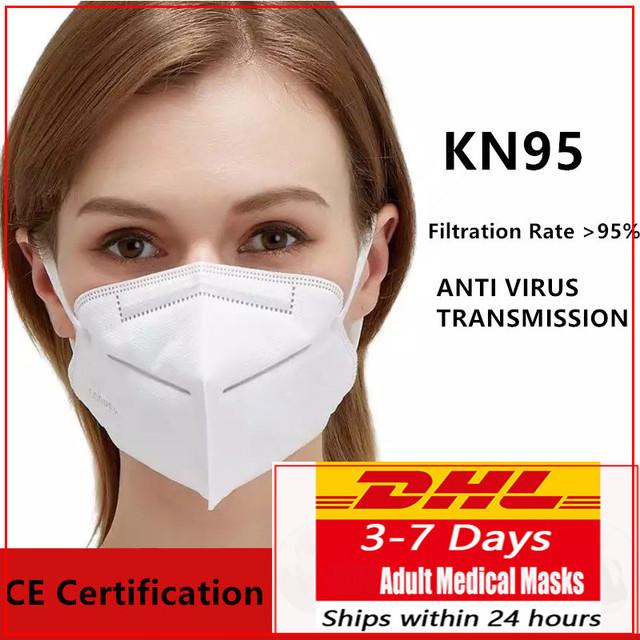 50/100 pcs kn95 mask n95 mask face masks