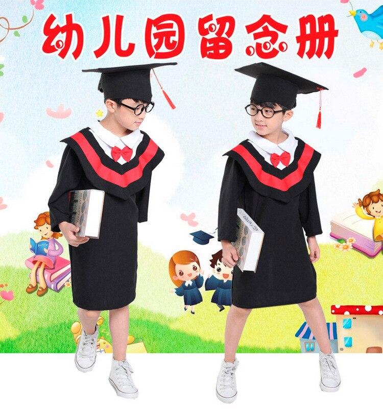 Young STUDENT'S Dr. Clothes Kindergarten Graduation Class Dr. Formal Dress Men And Women Children Graduation Ceremony Performanc