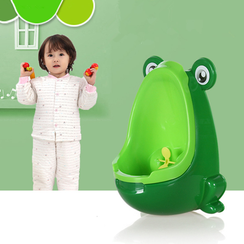 Douyin Baby Urinal Frog Children Urinal Hanging Vertical Dual Purpose Chamber Pot Boys' Urinal Funnel