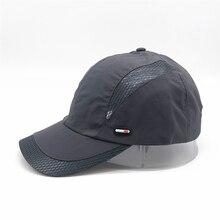 Visor-Cap Baseball-Hat Breathable Quick-Dry Sport Outdoor Running Summer Mens Gorras